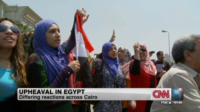 Egypt swears in interim president