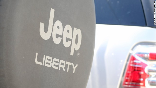 2011 to 2013 Jeep Liberty SUVs are among the vehicles involved in the active head-restraint recall.