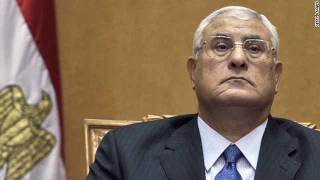 Who is Adly Mansour?