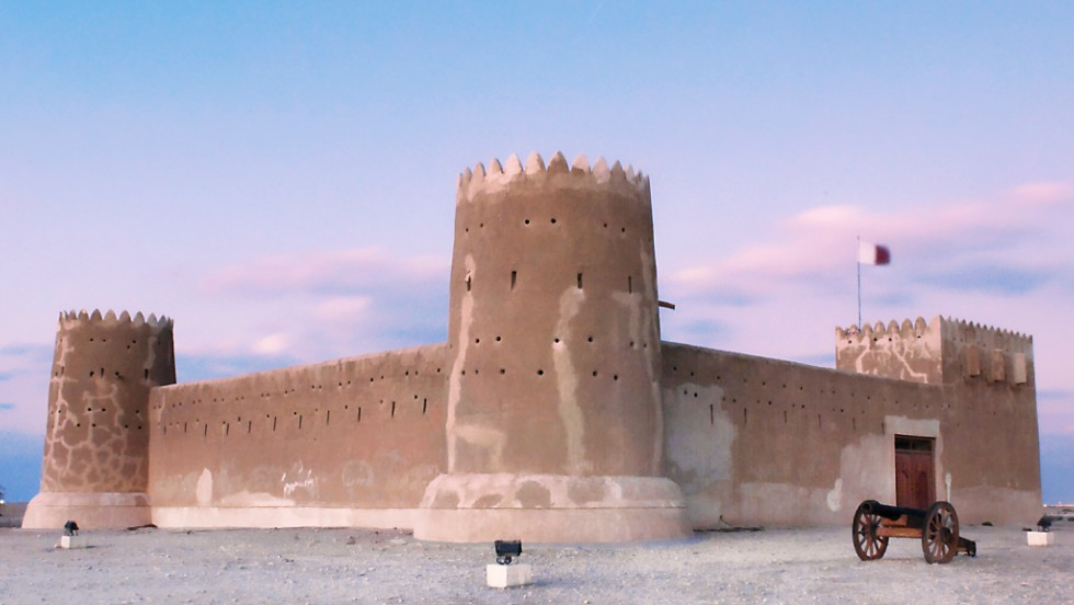 The archaeological remains of Al Zubarah have become Qatar's first World Heritage listed site.