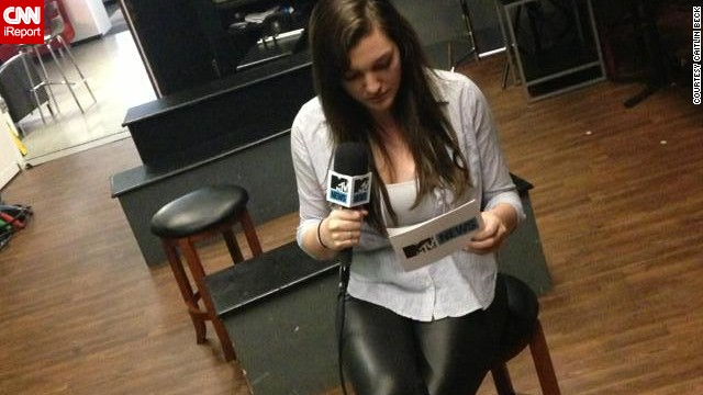 Caitlin Beck will intern with MTV News again this fall.