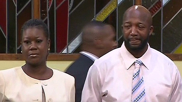 Martin's parents react to verdict