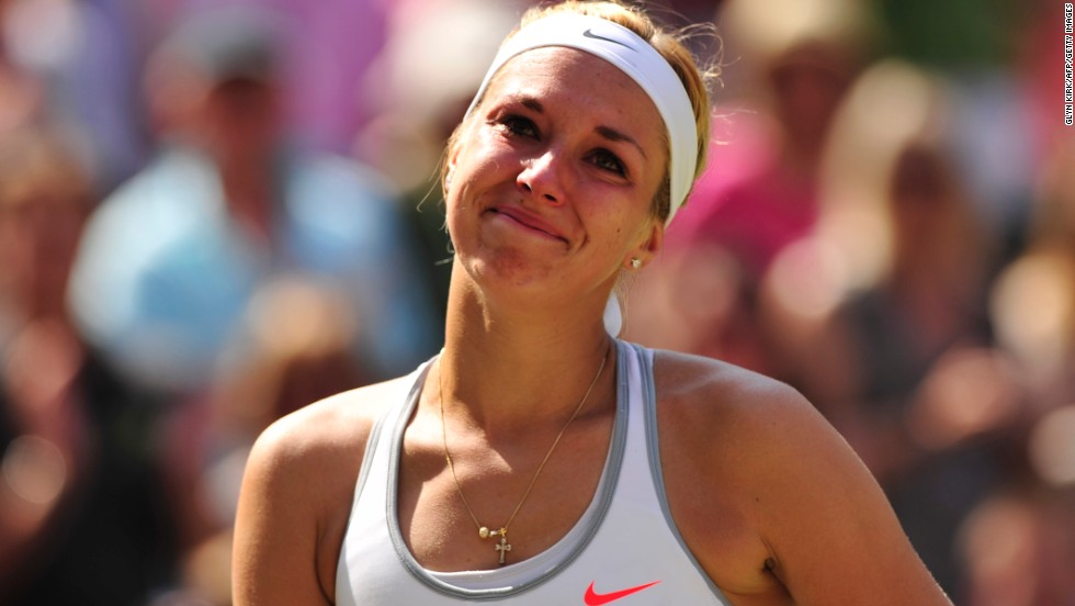 Lisicki didn't play her best tennis in the final, but has become a firm favorite with the Wimbledon crowds in 2013. The 23-year-old stunned Serena Williams in the fourth round and fended off Agnieszka Radwanska in the semis.