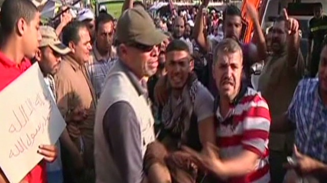 Witnesses: Police attack demonstrators