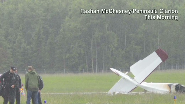 Alaska plane crash kills 10