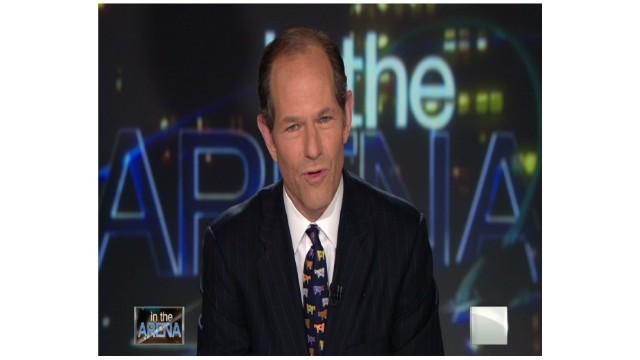 2011: Eliot Spitzer signs off