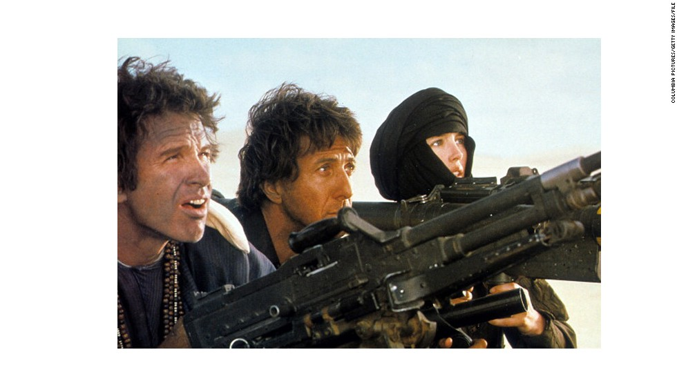 "<strong>""Ishtar"" (1987):</strong> The title of this Elaine May film, starring Warren Beatty, left, and Dustin Hoffman as a singing team, has become shorthand for ""turkey."" But Hitfix's Drew McWeeny stands up for the Hope/Crosby-style comedy: Despite some shagginess, it has hilarious songs and ""really plays,"" he says. Isabelle Adjani co-starred with Beatty and Hoffman."