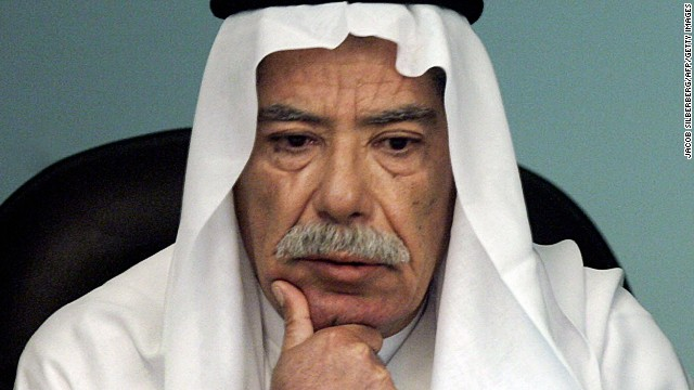 [File photo] Sabawi Ibrahim giving evidence during Saddam's trial in Baghdad on June 13, 2006.