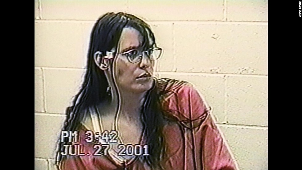 A July 27, 2001, video shows Yates talking with a psychiatrist in jail.