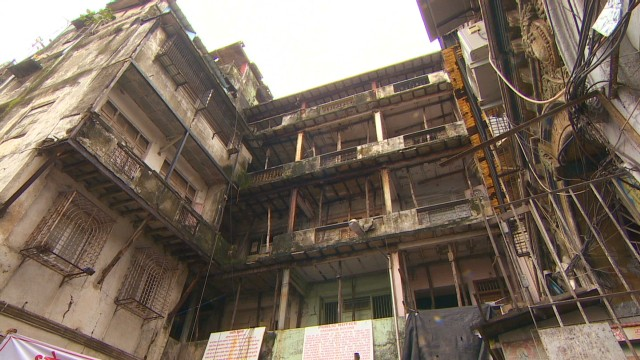 Mumbai takes on dangerous buildings