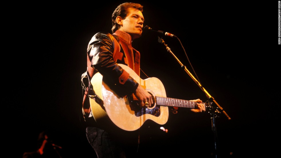 Travis performs in 1988.