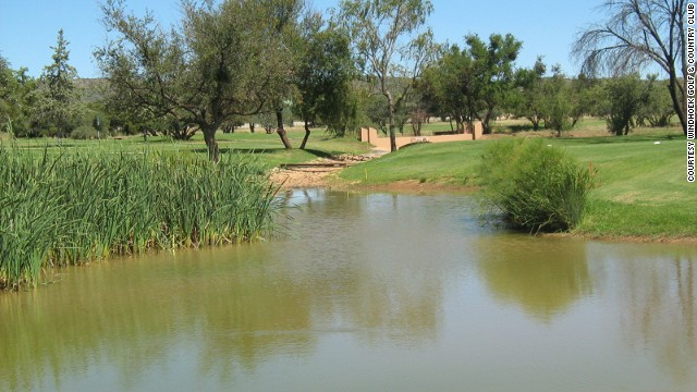 Windhoek Golf & Country Club is laid out on 72 hectares of natural Namibian bushveld.