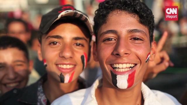 CNN iReporter Tyson Sadler captured photos of street protests in Cairo.