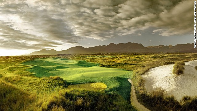 Fancourt Links: even more beautiful than Tiger's swing.