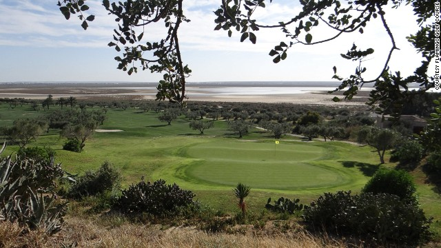 Flamingo Golf Course: views all the way to the Mediterranean.