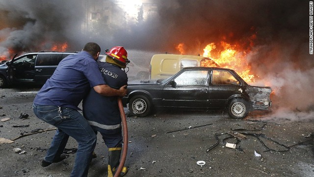 Beirut on edge after massive car bomb