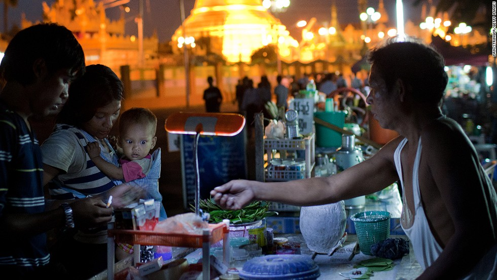 No one wants to get sick on vacation, but why travel all the way to Thailand or Mexico and not eat the local grub? If locals are in line, consider the place vetted -- you're going to be fine.