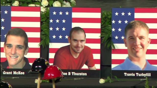 Arizona firefighters remembered