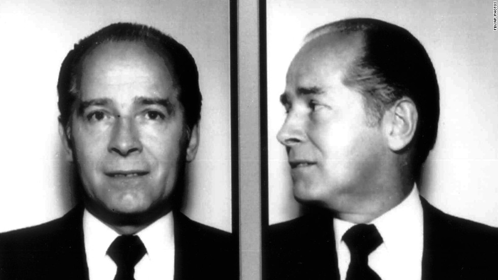 "James ""Whitey"" Bulger, seen here in a 1984 FBI photo, spent nine years in federal prison before he climbed the ranks of the Winter Hill Gang -- the preeminent Irish-American crime syndicate in the Boston area -- in the early 1970s."