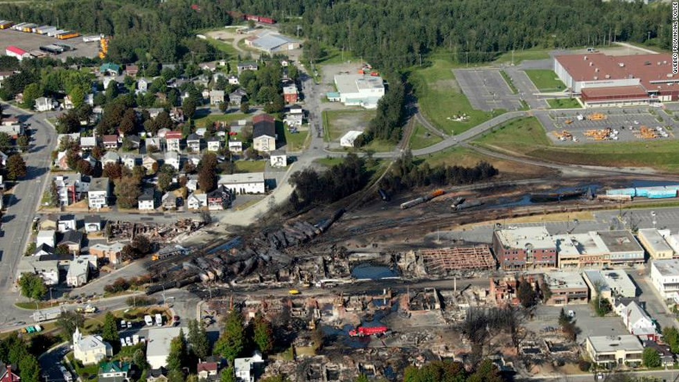 An engineer faces a criminal investigation by Canadian authorities, according to the head of the railway whose runaway train devastated Lac-Megantic.<br />