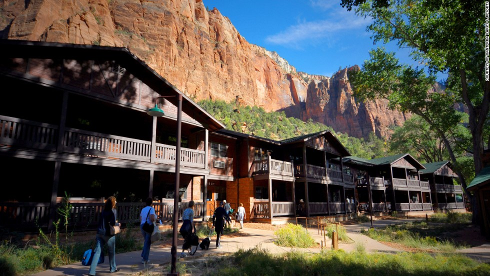 This is the only lodging option that puts you inside Zion National Park. Western-style 1920s cabins combine fir flooring and oak-and-wicker dressers with modern amenities like 300-thread-count cotton sheets.