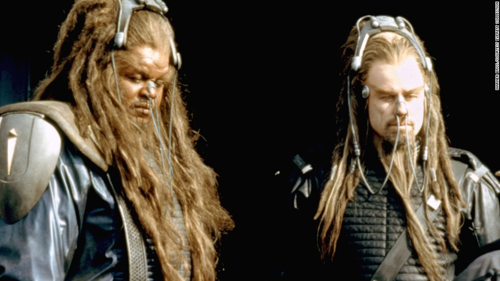 "Commenter ghengisman said we ""(f)orgot 'Battlefield Earth.' No one should ever make a movie out of a novel where the phrases 'Blown to bits' and 'Cut to pieces' alternate every two pages."" It took John Travolta, right, years to live down this stinker from 2000."