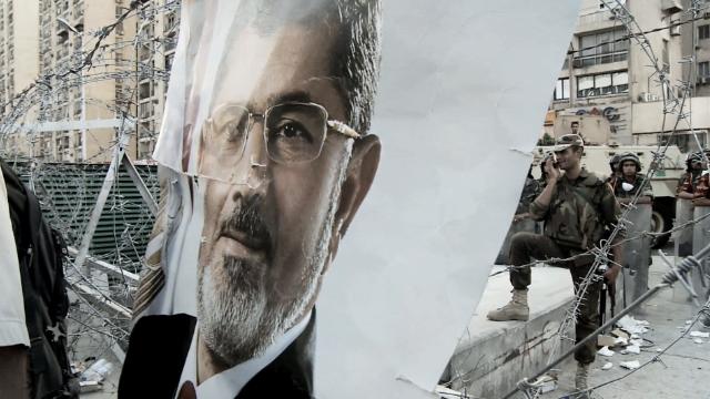 Morsy's son to his dad: 'Remain defiant'