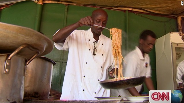 Somali chef offers taste of normal life