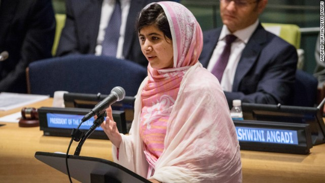 Malala: I am one girl among many