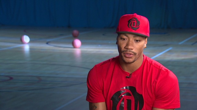 Derrick Rose says poverty is behind gun crime in his Chicago hometown