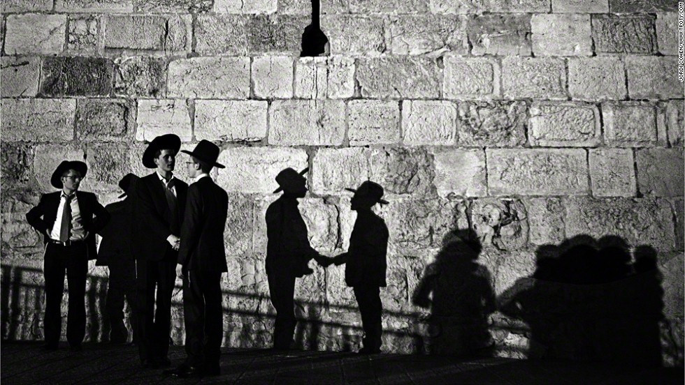 Old City of Jerusalem, Israel; Jordi Cohen, Spain; commended, People Watching category.