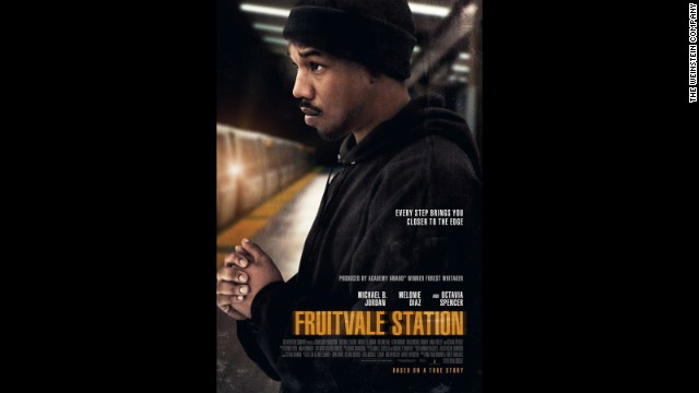 "Michael B. Jordan portrays the late Oscar Grant III in ""Fruitvale Station."""