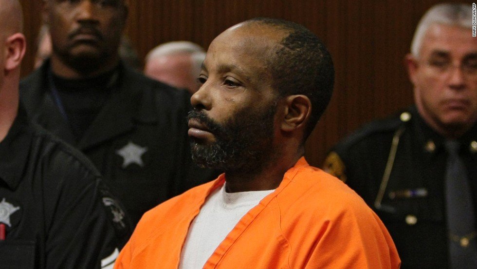 Police found the decomposing and buried bodies of 10 women and the skull of another woman at the Cleveland home of ex-Marine Anthony Sowell. He was convicted and given the death penalty in 2011.