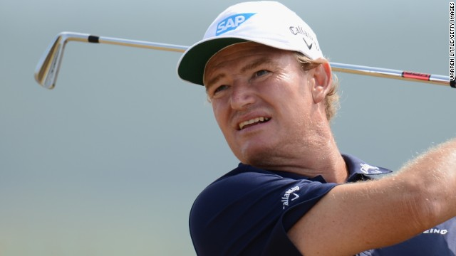 Ahead of his title defense at the British Open next week, Ernie Els missed the cut at the Scottish Open.