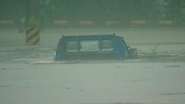 Typhoon Soulik hits Taiwan hard