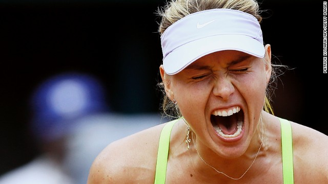 Maria Sharapova's season has been hit by a niggling hip injury.