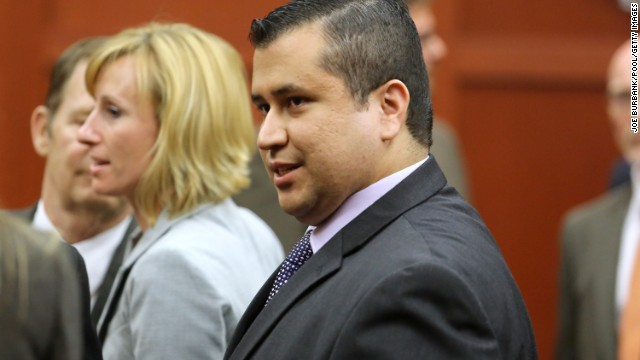 George Zimmerman smiles as he prepares to leave the courtroom after the not guilty verdict is read on Saturday, July 13, in Sanford, Florida.