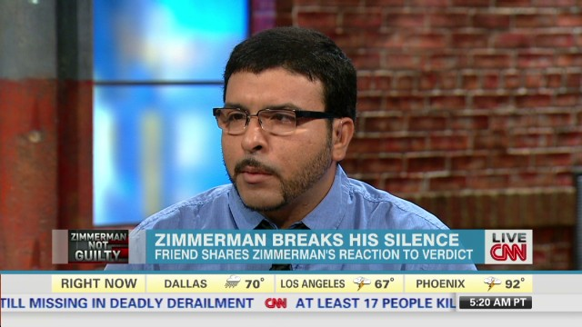 Zimmerman friend: George is not a racist
