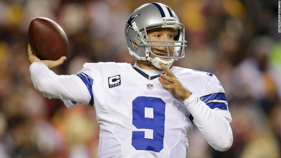 Two playoff wins in 13 seasons, along with a litany of injuries to Romo, have Dallas fans reaching for their prayer beads yet again. Romo's broken collarbone in week 2 effectively killed the 2015 season -- Dallas went 0-8 without him -- and he's out another six to 10 weeks this year with a broken bone in his back.