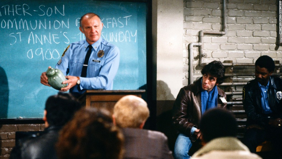 "When actor Michael Conrad died of cancer in 1983, his ""Hill Street Blues"" character, Sgt. Phil Esterhaus, also died."
