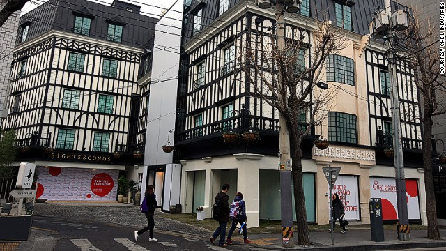 8seconds stores are located all over South Korea; the flagship store is located on trendy Garosugil.