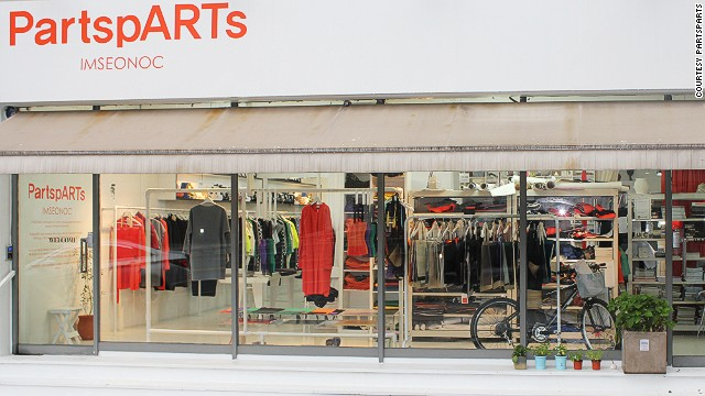 PartspARTs is one of South Korea's most highly coveted brands of the moment.