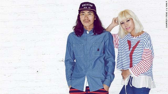 Steve J. and Yoni P., the funky designer duo behind their eponymous brand.