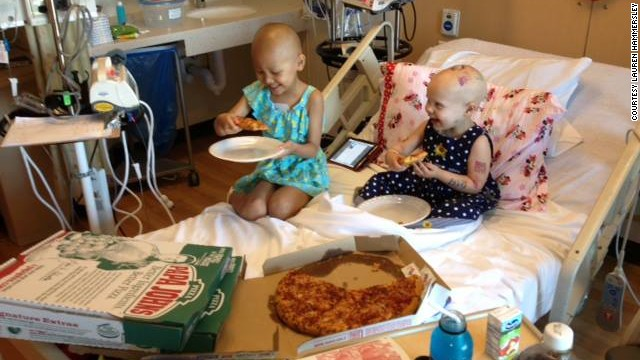 Toddler's plea yields pizza bonanza