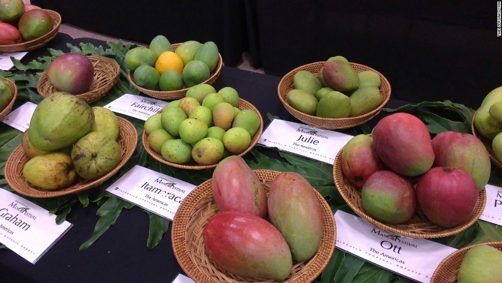 There are an estimated one thousand mango varieties, but only 20 are traded internationally and most mangoes available at retail belong to one of six common varieties.