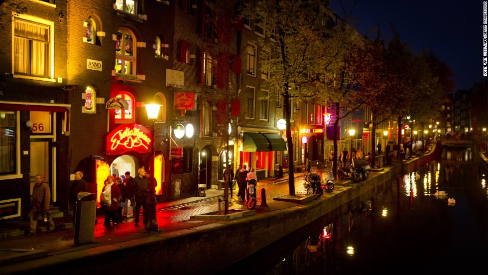 Whether just fascinated or ready to partake, a huge share of tourists are also drawn by the legal sale of sex in Amsterdam's red-light district, known as De Wallen.