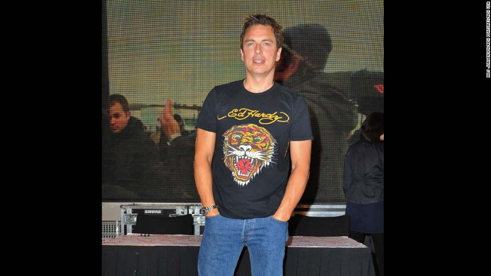 "<a href=""https://www.youtube.com/watch?v=WMncnFQkZ5w"" target=""_blank"">John Barrowman appeared</a> on BBC's Chris Moyles show and performed a karaoke version of Katy Perry's ""I Kissed a Girl"" while wearing an Ed Hardy shirt, shorts and heels."