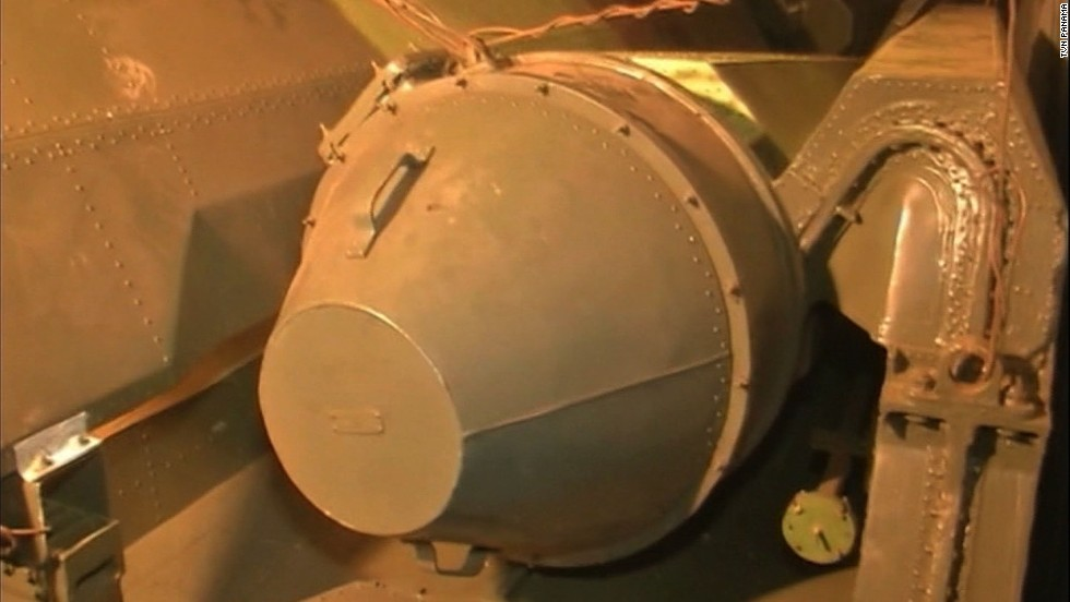 "Military equipment found on a North Korean ship on Monday, July 16, sits on board the ship docked in the Panamanian port of Manzanillo International Terminal. Cuba's Foreign Ministry said the ship contained ""240 metric tons of obsolete defensive weapons"" sent to North Korea ""to be repaired and returned to Cuba."""