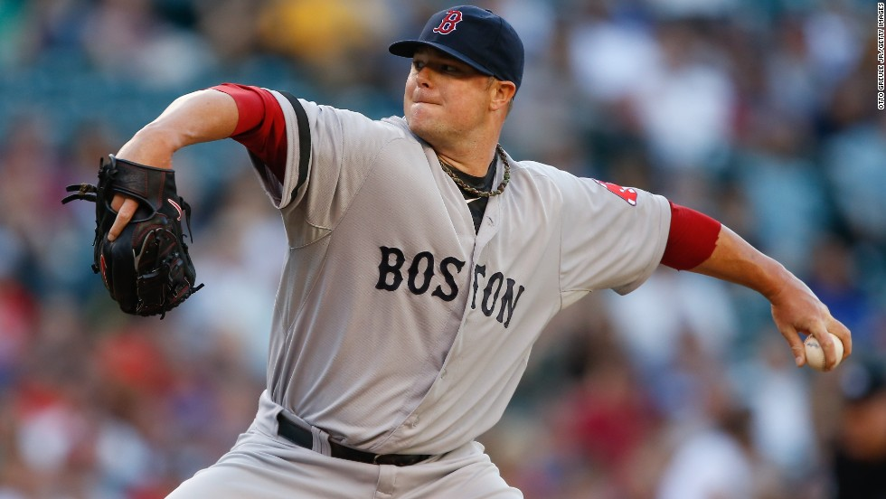 """During his rookie season in 2006, Jon Lester was diagnosed with anaplastic large cell lymphoma, a rare form of blood cancer. A year after his diagnosis, Lester was back on the mound, winning Game 4 of the World Series to clinch the championship. <a href=""""http://www.cnn.com/2013/07/17/health/human-factor-jon-lester/index.html """">Read more</a>."""