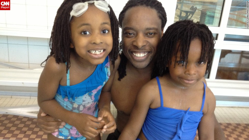 """Doctoral student and father of two Omekongo Dibinga says most dads he knows are involved parents. Yet the stereotype of the hapless dad persists. (<a href=""""http://ireport.cnn.com/docs/DOC-998916"""">Read his story.</a>)"""